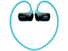 Sony Walkman W-series 8gb Headphone-integrated Nw-w274s/l Waterproof Blue Japan