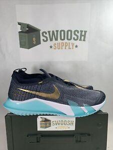 Nike React Vapor NXT HC Dark Obsidian Metallic Gold CV0724 400 Men's Size 11