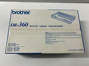 New Sealed Genuine Brother DR-360 Drum Unit