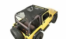Eclipse Sun Shade Full Cover Black Mesh Jeep Wrangler Tj 1997 to 2006 13579.08