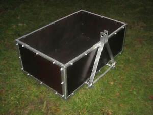 Heckcontainer / Transportbehälter für Hydraulik - Kat 1 - NEU