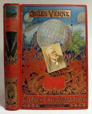 1893 JULES VERNE Les Voyages Extraordinaires P'TIT BONHOMME Antique French Book