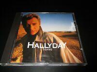 "CD ""JOHNNY HALLYDAY : GANG"""