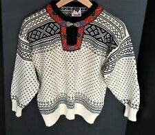Dale of Norway Womens Med Size 10 Setesdal Sweater 100% Wool  Classic Ski