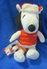 "Macy's Snoopy With Hat & Vest and Keychain 19"" 2015"