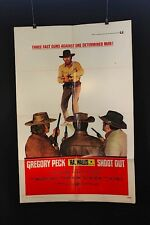 "Shoot out - Original theater ""one-sheet"" movie poster NSS#71/206"