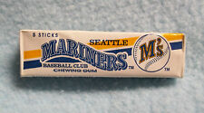 Seattle Mariners Baseball Club Chewing Gum ~ 5 Stick Pkg Officially Licensed