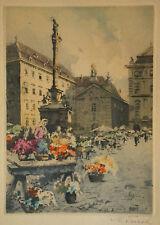 Karl Tucek  (Wien 1889-1952 ebd.)  - Wien, Am Hof.