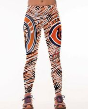 Chicago Bears Leggings L/XL Chi Town Football Athletic Yoga Stretchy Womens