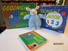 Goodnight Moon 123 Counting Game 2 boardbooks, plush by Eden