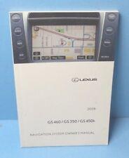 08 2008 Lexus GS 460/GS 350/GS 450h Navigation System owners manual
