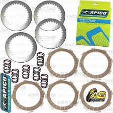 Apico Clutch Kit Steel Friction Plates & Springs For Kawasaki KX 65 2000 MotoX