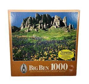 Big Ben Jigsaw Puzzle 1000 Piece Tonto National Forest AZ Milton Bradley USA