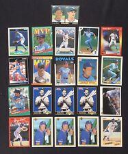 George Brett Baseball Card Lot of 21 Kansas City Royals HOF Bowman Topps Donruss