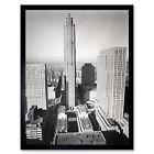 Berenice Abbott Rockefeller Center Madison New York Photo Art Print Framed 12x16