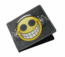 DJ Emoji Wallet Party Music Funny Bifold Mens Womens Unisex Card Money Holder