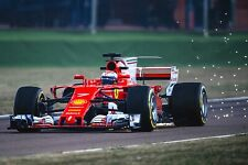 Ferrari F1 Formula One Automotive Car Wall Art Giclee Canvas Print Photo (216)