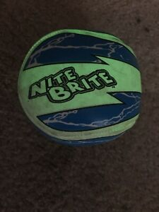 VTG Baden Nite Brite Glow In The Dark Baseball Vintage