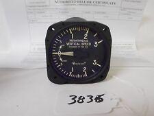 (3836) Aerosonic Instantaneous Vertical Speed Indicator P/N 30230-1176 W/8130