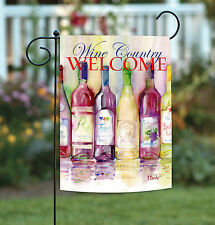 New Toland - Reds and Whites Wine Country Welcome - Regional Garden Flag