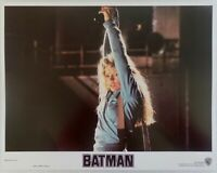 "1989 LOBBY CARD 14"" x 11"" - ""BATMAN"" - DC COMICS JOKER - KIM BASINGER"