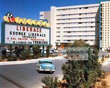 Vintage Las Vegas STRIP Riviera Casino 8x10 Photo 1955