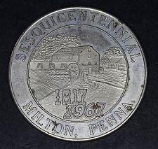 1967 Milton, Pennsylvania Sesquicentennial Souvenir Half Dollar Token (5121-06)