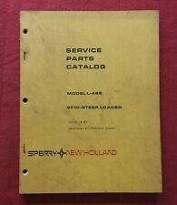 Original New Holland L 425 Skid Steer Loader Tractor Parts Manual