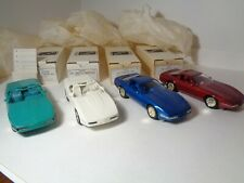 4 AMT ETRL 1991 Corvette Dealer Promo Models Collection  NIB