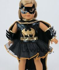 Adorbs Batman / Bat Girl Costume Set for 18 inch Doll Clothes American Girl