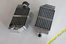 For KTM 50 SX/SXS Mini 49cc/50cc 2-STROKE 2012-2018 Braced Aluminum Radiator