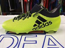 Adidas Bambini Scarpe da Calcio x 17.3 FG Junior con Tacchetti 36.5