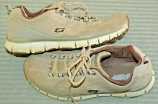 Womens size 10 Skechers Sports hiking outdoor adventure shoes tan