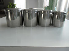 Sharda Stainless Steel Kitchen Canister Set of 4