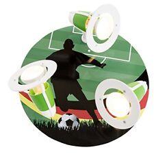 Elobra – Plafoniera Calcio WM calciatore legno Verde a