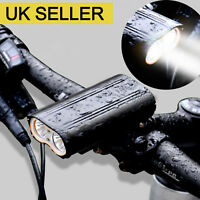 T6 Super Bright MTB Waterproof Bike Cycling LED Front Light USB Rechargeable
