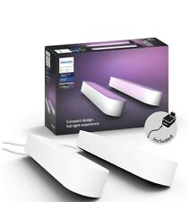 Philips Hue Play Colour & Ambience Smart LED Light Bar - Double Pack - White**