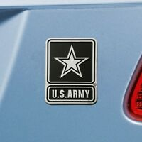 U.S. Army Heavy Duty Metal 3-D Chrome Auto Emblem