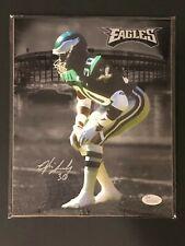 Philadelphia Eagles, Otis Smith signed 8x10 w/JSA