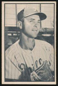 #35 JOHNNY WYROSTEK 1953 Bowman Baseball Black White PHILADELPHIA PHILLIES