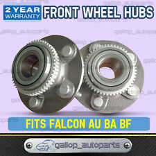 Fits Ford Falcon New Front Wheel Bearing Hubs AU BA BF & Territory SX SY (Pair)