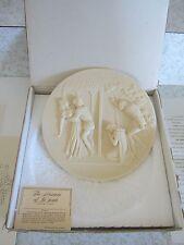 Gino Ruggeri RIGOLETTO Alabaster Plate Wall relief Dish opera Grand Ol' Operi