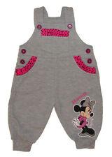 Pantalones y pantalones cortos gris para niñas de 0 a 24 meses