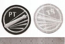 "#329 US NAVY PATROL TORPEDO BOAT PATCH ""PT BOAT"""