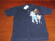 NWT $45 POLO Ralph Lauren collared BIG HORSE POLO LOGO shirt boys SHIRT size 7