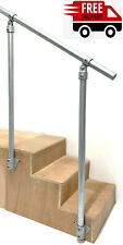 Handrail Mobility Outdoor Garden Safety Rail Stairs Side Secure Galvanised Tube