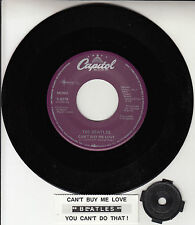 "BEATLES Can't Buy Me Love & You Can't Do That 45 rpm 7"" record BRAND NEW RARE"