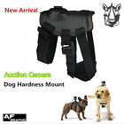 G33 Action Cam Fetch Harness Pet Dog Chest Strap Mount & 2 Quick Release Buckle
