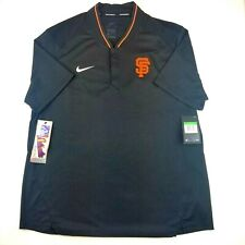 Nike MLB San Francisco Giants Black/Orange Short Sleeve Pull Over Mens Size XL