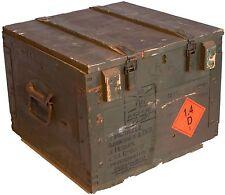 """Boîte Munitions """" Boîte 80 """" Coffre de rangement militärkiste munitionsbox bois"""